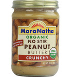 Maranatha Crunchy Almond Butter No Stir (12x12 Oz)