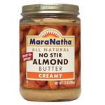 Maranatha Creamy Almond Butter No Stir (12x12 Oz)