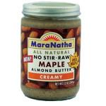 Maranatha Maple Raw Almond Butter (12x12 Oz)