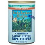 Santa Barbara Black Large Pitted Olives (12x6 Oz)