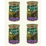 Natural Value Extra Lg Black Olives (24x6OZ )