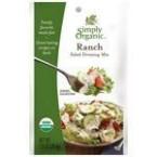 Simply Organic Ranch Salad Dressing Mix (12x1 Oz)
