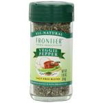 Frontier Herb Saltless Veggie Pepper (1x1.76 Oz)