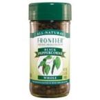 Frontier Herb Black Peppercorns Tellicherry (6x1.76 Oz)