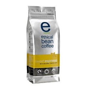 Ethical Bean Sweet Espresso Med Drk Rst Coffee (6x12 Oz)