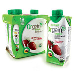 Orgain Straw/Cre (3x4Pack )