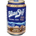 Blue Sky Natural Root Beer Soda (4x6 PK)