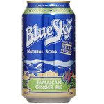 Blue Sky Jamaican Ginger Ale Soda (4x6 PK)