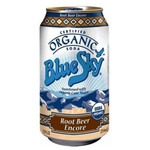 Blue Sky Root Beer Encore Soda (4x6 PK)