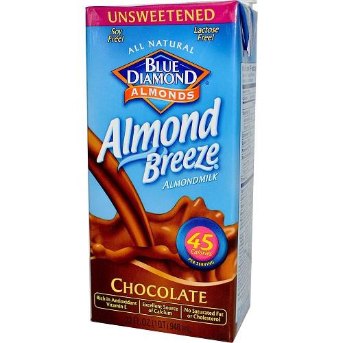 Blue Diamond Chocolate Almond Breeze (12x32 Oz)