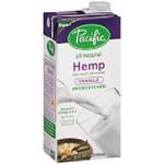 Pacific Natural Foods Hemp Milk Un Sweet Van (12x32OZ )
