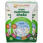 Happy Child Super Nutrition Shake Vanilla (4x4x8.25 OZ)