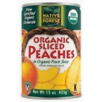 Native Forest Sliced Peaches (6x15 Oz)