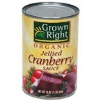 Grown Right Jellied Cranberry Sauce (24x14 Oz)