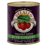 De Lallo Italian Diced Tom (12x28OZ )
