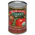 Muir Glen Diced Basil & Garlic Tomato (12x14.5 Oz)