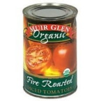 Muir Glen Diced Fire Roasted Tomato No Salt (12x14.5 Oz)