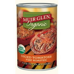 Muir Glen Organic Fire Roasted Diced Tomatoes (12x14.5Oz)