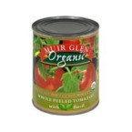 Muir Glen Whole Pls Tomato With Basil (12x28 Oz)