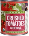 Woodstock Crushed Tomatoes With Basil (12x28 Oz)