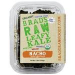 Brad's Raw Leafy Kale, Natural Nacho (12x2.5Oz)