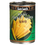 Sun Luck Baby Corn Whole (6x15OZ )