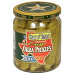 Talk O Texas Okra Pickled Mild (6x16Oz)