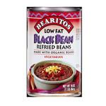 Little Bear Black Refried Beans Low Fat (12x16 Oz)