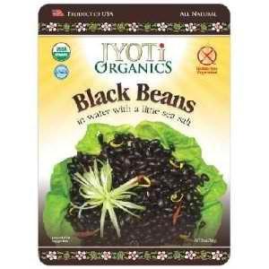 Jyoti Organics Black Beans (6x10OZ )