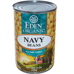 Eden Foods Navy Beans Can (12x15 Oz)