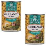 Eden Foods Garbanzo Beans (12x29 Oz)
