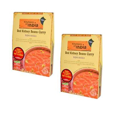 Kitchens Of India Red Kidney Beans CurryRajma Masala (6x10Oz)