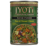Jyoti Matar Paneer Peas Cheese (12x15 Oz)