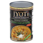 Jyoti Madras Sambar Lentils & vegetables (12x15 Oz)