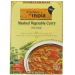Kitchens Of India Ready To Eat Pav Bhaji Mashed Vegtable Curry (6x10Oz)