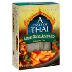 A Taste Of Thai Wide Rice Noodles (6x16Oz)