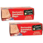 Natural Value Sandwich Bags (12x50CNT )