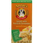 Annie's Homegrown Spirals with Butter & Parmesan (12x5.25Oz)