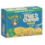 Annie's Homegrown Rice Pasta & Wisconsin Cheddar Mac & Cheese (6x10.7 Oz)