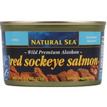 Natural Sea Premium Alaskan Pink Salmon Salted (12x7.5Oz)