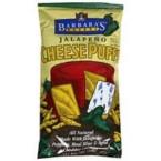 Barbara's Jalapeno Cheese Puffs Gluten Free (12x7 Oz)