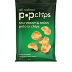 Popchips Sour Cream & Onion Potato Chip (24x.8 Oz)
