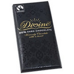 Divine Chocolate 85% Dark Bars (10x3.5 Oz)