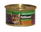 Pet Guard Cat Lite Turkey & Barley Dinner (24x3 Oz)