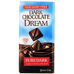 Dream Bar Pure Dark Chocolate Bar (12x3 Oz)