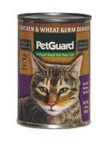 Pet Guard Cat Chicken & Wheat Germ (12x14 Oz)