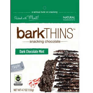 Bark Thins Dark Chocolate Mint (12x4.7OZ )