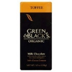Green & Black Milk Choc Toffee 34% Cocoa (10x3.5 Oz)