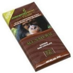 Endangered Species Smooth Dark Chocolate Bar Chimpanzee (12x3 Oz)
