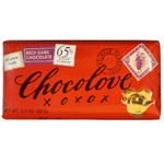 Chocolove Rich Dark Chocolate Bar (12x3.2 Oz)